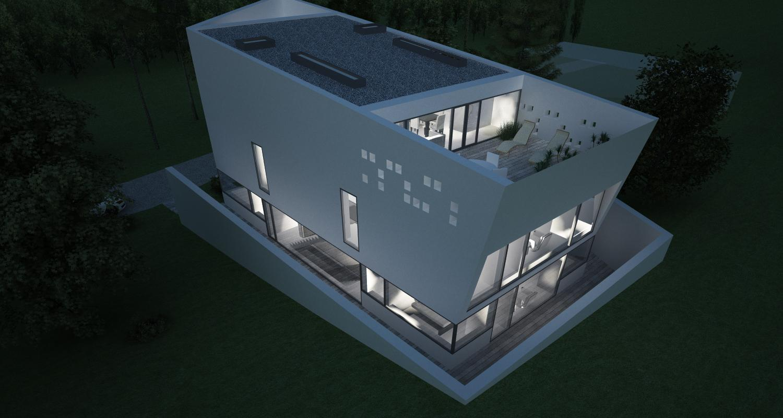 Bob Residence, Gordola, Elvetia   Concept Design   Imobil rezidential, cod BOBE Gordola, Elvetia - proiect din portofoliul CUB Architecture