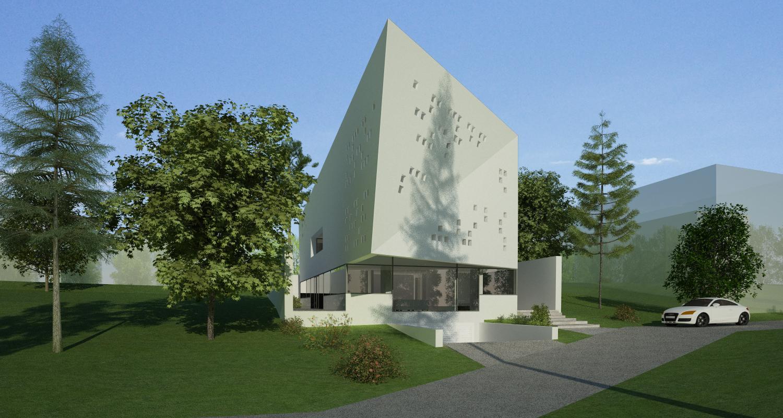 Bob Residence Imobil apartamente, Gordola, Elvetia   Concept Design finalizat   Imobil rezidential, cod BOBE Gordola, Elvetia - proiect din portofoliul CUB Architecture