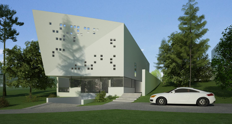 Bob Residence Imobil apartamente, Gordola, Elvetia   Concept Design finalizat   Imobil rezidential cu apartamente, cod BOBE Gordola, Elvetia - proiect din portofoliul CUB Architecture