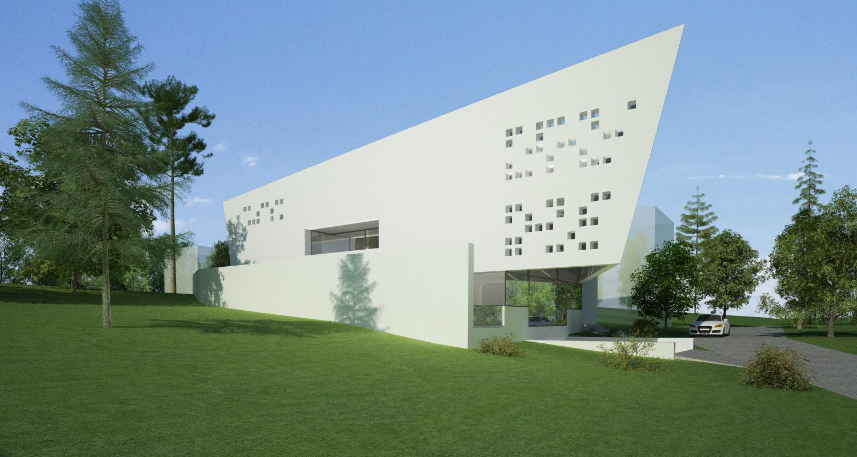 Bob Residence Imobil rezidential, Gordola, Elvetia   Concept Design finalizat   Imobil rezidential, cod BOBE Gordola, Elvetia - proiect din portofoliul CUB Architecture