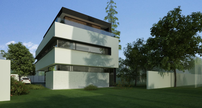 Locuinta Unifamiliala Minimalista in Sectorul 5 | Concept Design finalizat locuinta unifamiliala moderna minimalista, parter si doua etaje cod NGG in Bucuresti, S 5 | Proiect din portofoliul CUB Architecture