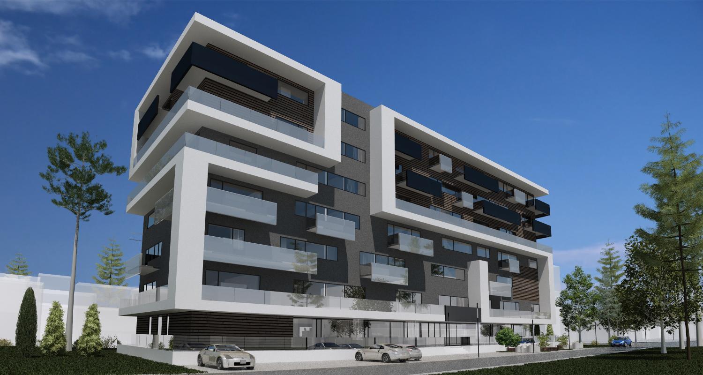 Imobil rezidential cu apartamente de 2 si 3 camere, zona Berceni, Bucuresti, S4   Concept Design bloc de locuinte modern cu apartamente - demisol parter si 6 etaje cod BRAN in Bucuresti, S4   Proiect din portofoliul CUB Architecture