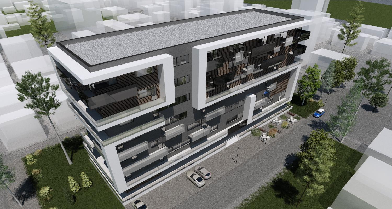 Imobil rezidential cu apartamente de 2 si 3 camere, zona Berceni, Bucuresti, Sector 4   Concept Design bloc de locuinte modern cu apartamente - demisol parter si 6 etaje cod BRAN in Bucuresti, Sector 4   Proiect din portofoliul CUB Architecture