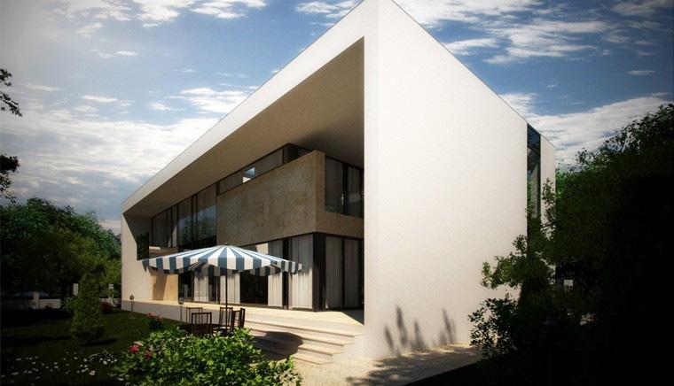 Proiect Locuinta Moderna casa moderna cod BFO Oradea Bihor