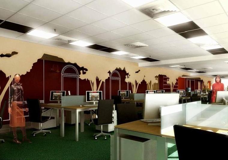 Proiect Amenajare Spatiu Birouri  Ipsos Interactive Services Romania | Proiectare finalizata office planning  Ipsos Interactive Services in City Building, Bucuresti cod IISR | Lucrare din portofoliul CUB Architecture