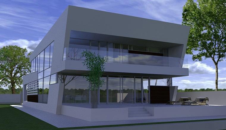 Proiecte Locuinte avantgardiste   Proiectare finalizata casa moderna cod CFP Pitesti, Arges - proiect din portofoliul CUB Architecture