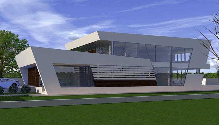 Proiecte Locuinte moderne avantgardiste   Proiectare finalizata cod CFP Pitesti, Arges - proiect din portofoliul CUB Architecture