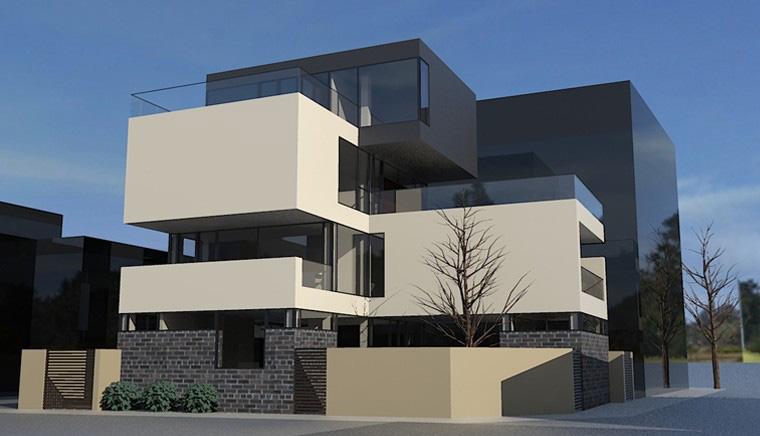 Proiect Locuinta Moderna casa cu 3 etaje Bucuresti Sector 1