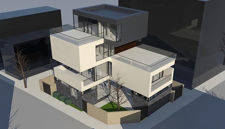 Proiect Locuinta Moderna cu 3 etaje Bucuresti