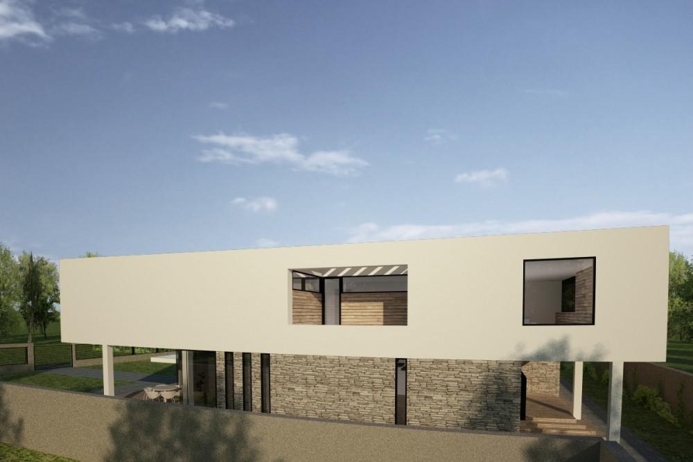Proiect Duplex modern Proiectare finalizata casa cod GDP in Pantelimon, Ilfov - proiect din portofoliul CUB Architecture