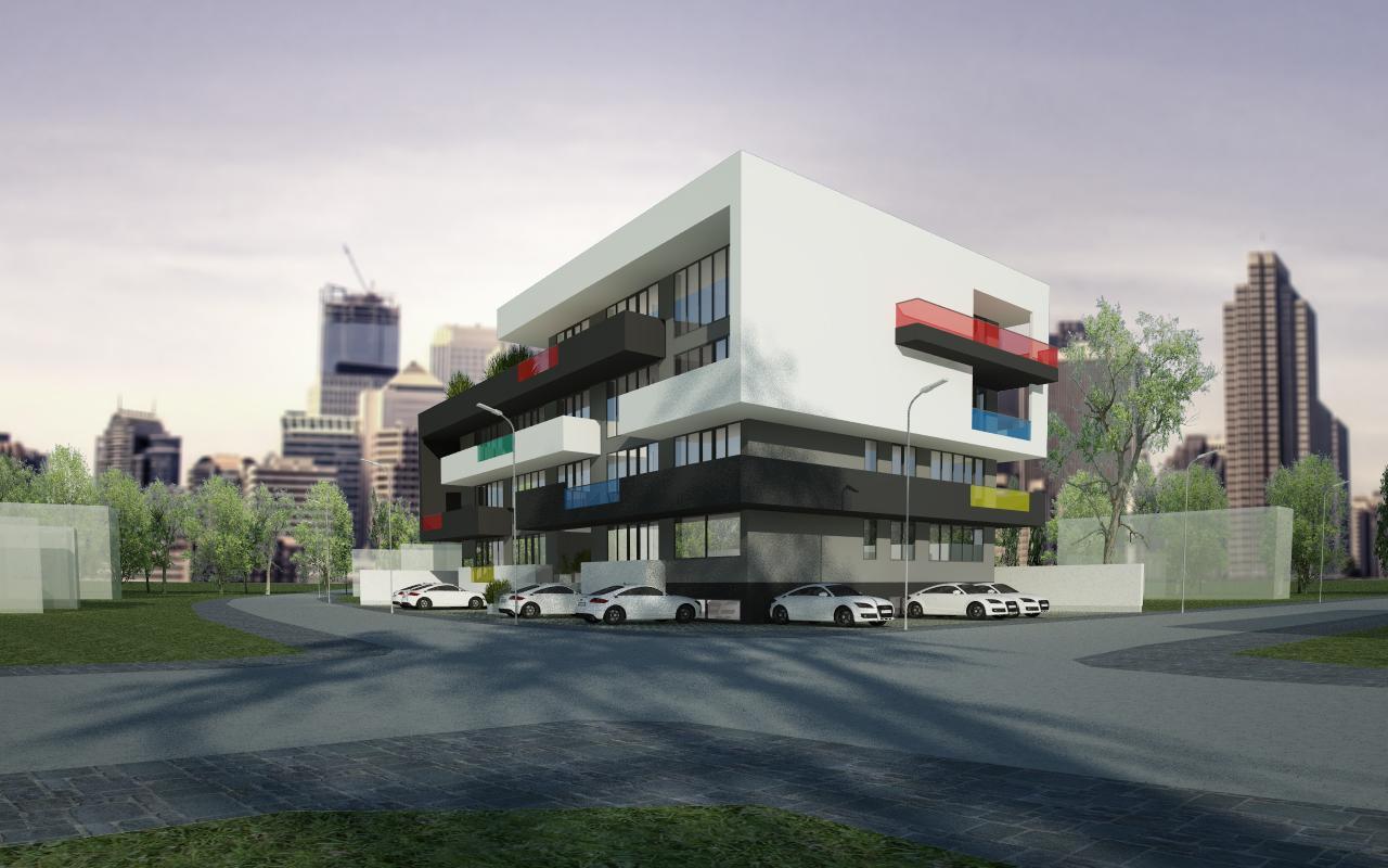 Proiect Imobil Rezidential cu 31 de Apartamente Bucuresti bloc modern cod AUSL in Bucuresti, Sector 1