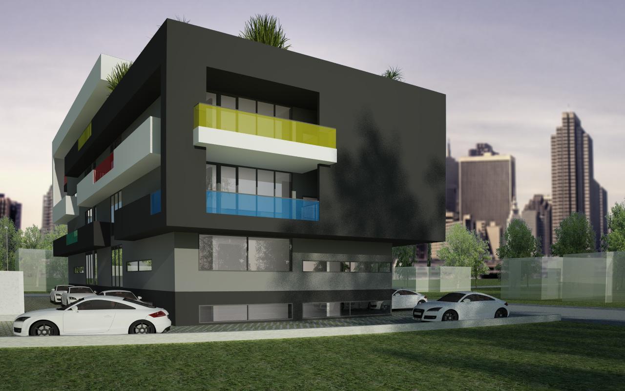 Proiect Imobil Rezidential cu 31 de Apartamente Bucuresti cod AUSL in Bucuresti, Sector 1