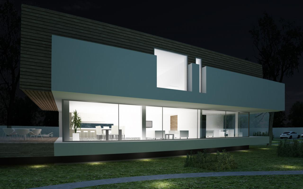 Proiect Locuinta Bifamiliala Moderna cod MSL in Austria