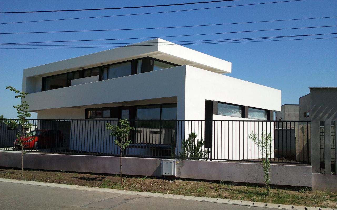 Case moderne Lucrare finalizata cod AMC Fin in Corbeanca portofoliul cub architecture