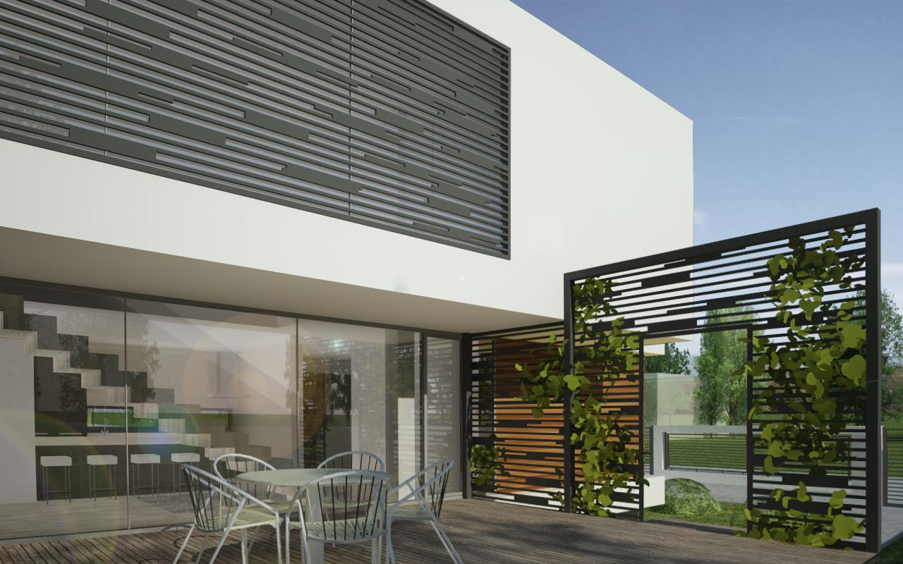 Proiect Locuinta Moderna in Valu lui Traian, Constanta | Concept Design Proiect Locuinta Moderna in Constanta | proiect din portofoliul CUB Architecture