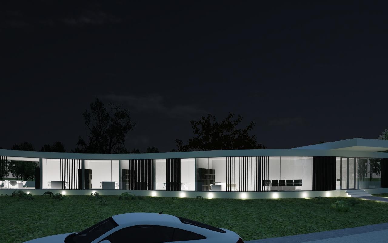 Proiect Imobil Sediu Companie in Otopeni | Concept Design Imobil Sediu Companie cod CRVL | Proiect din portofoliul CUB Architecture