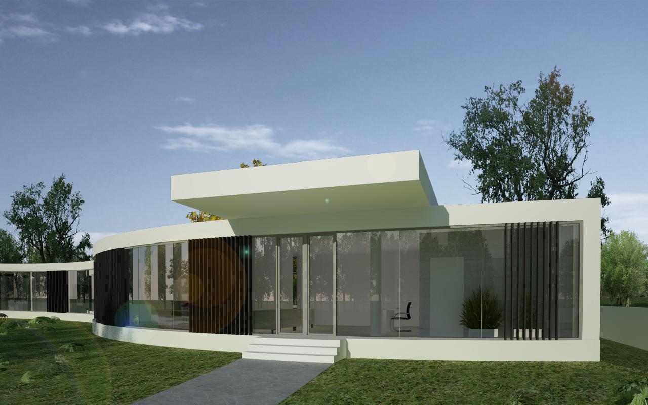 Proiect Imobil Sediu Companie in Otopeni, Ilfov | Concept Design Imobil Sediu Companie in otopeni cod CRVL | Proiect din portofoliul CUB Architecture