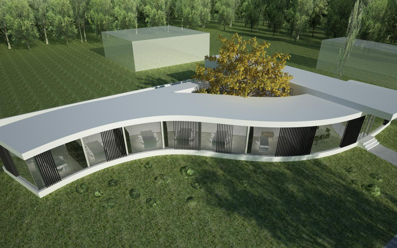 Proiect Imobil Sediu Companie modern in Otopeni, IF | Concept Design Imobil Sediu Companie in otopeni cod CRVL | Proiect din portofoliul CUB Architecture
