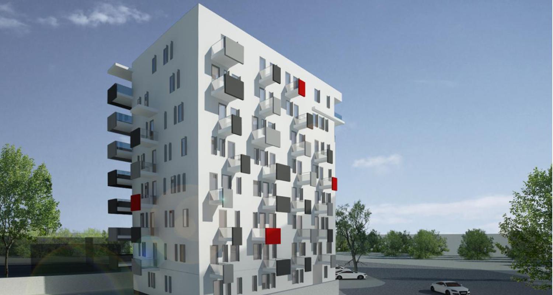 Imobil 35 apartamente Bucuresti, Sector 1 | Concept Design bloc modern cu 35 de apartamente cod BVAB in Bucuresti, Sector 1 | Proiect din portofoliul CUB Architecture