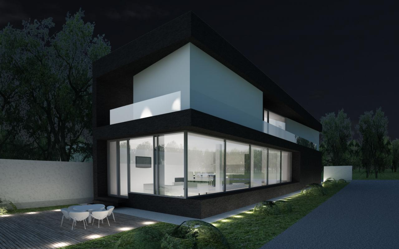 Proiect Locuinta Unifamiliala cod KRM in Bolintin