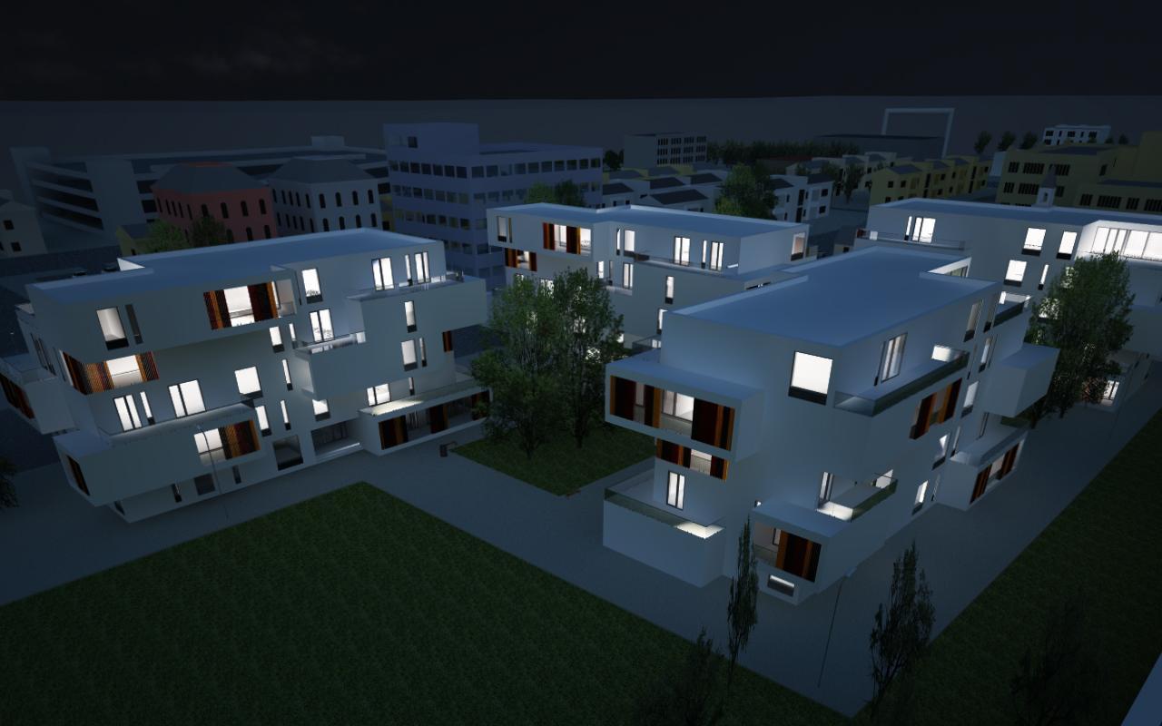 Proiect Ansamblu Rezidential cu 4 Unitati Locuinte cu 26 de apartamente cod DDUO in Otopeni