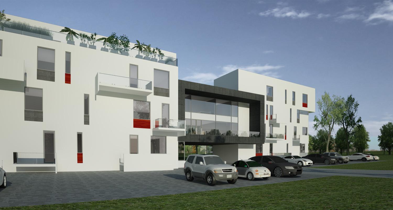 Proiect Imobil Rezidential cu 12 + 1 Apartamente Galati bloc de locuinte modern cu 12 + 1 apartamente cod SBBG in Galati