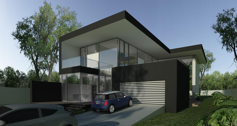 Proiect Casa Unifamiliala Moderna cod MCC in Brasov