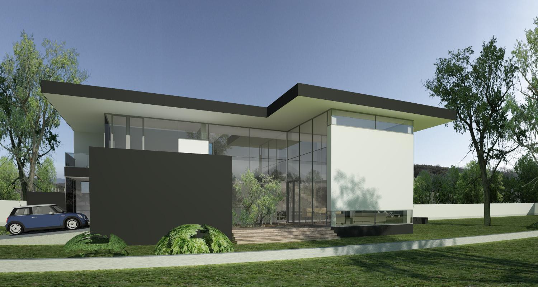 Proiect Casa Unifamiliala Moderna cod MCC in Cristian Brasov