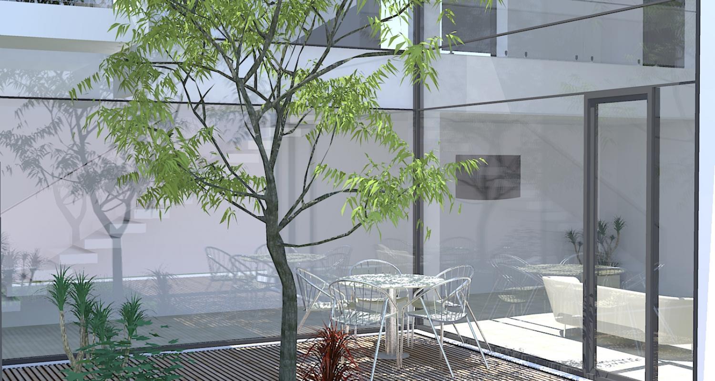 Black House casa moderna cu atrium cod LMB Bucuresti Sector 2