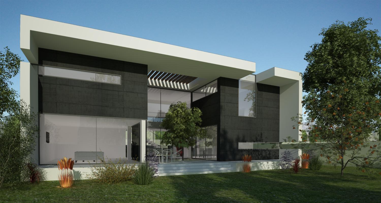 Proiect Locuinta Moderna cu Atrium cod ICR in Chiajna Ilfov