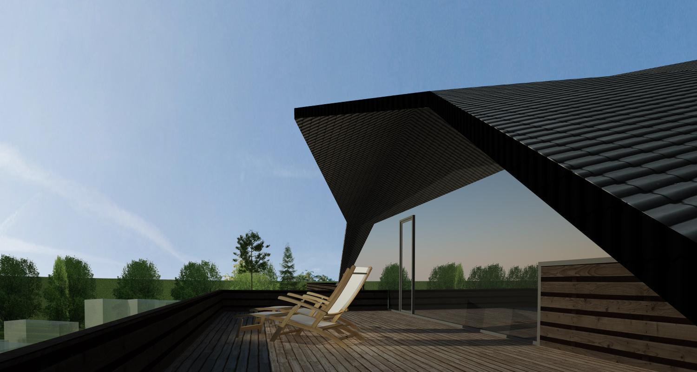 Proiect Imobil Rezidential Modern cu 18 unitati de locuit | Concept Design bloc de locuinte modern cod ADHU in Bucuresti | Proiect din portofoliul CUB Architecture