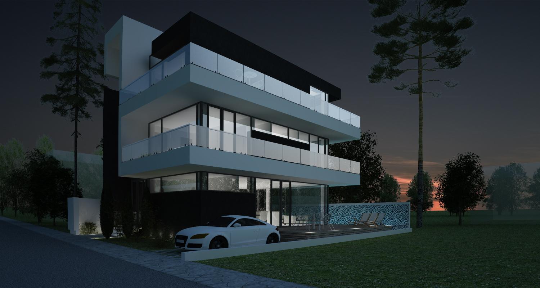 Proiect Locuinta Moderna cu Piscina cod MMR in Magurele
