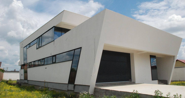 Locuinte moderne | Lucrare finalizata casa moderna cod CFP Fin Pitesti, Arges | proiect din portofoliul CUB Architecture