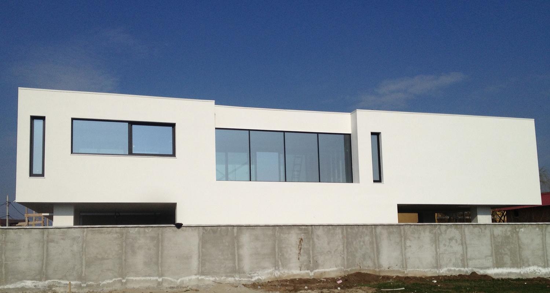 EN Locuinte moderne Lucrare finalizata casa moderna cod PMC Fin Chiajna - Rosu Ilfov portofoliul CUB Architecture