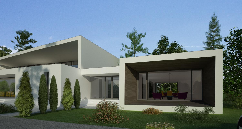 Proiect Casa Bifamiliala Moderna  in Erbil, Irak   Concept Design casa moderna cod KNI in Erbil, Irak   Proiect din portofoliul CUB Architecture