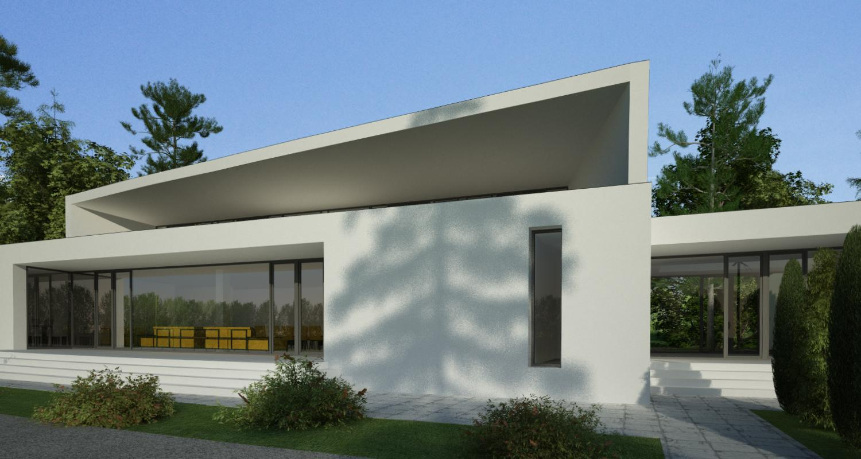 Proiect Locuinta Moderna  in Erbil, Irak   Concept Design casa moderna cod KNI in Erbil, Irak   Proiect din portofoliul CUB Architecture