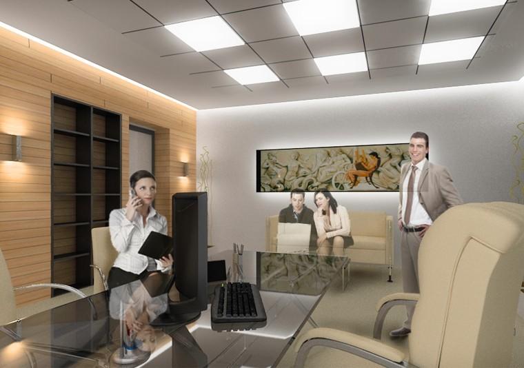 Office Planning for Sanofi Aventis - CUB Architecture portfolio