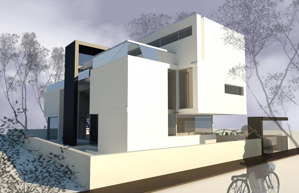 Proiect casa moderna cod EMP in Bucuresti Sector 6