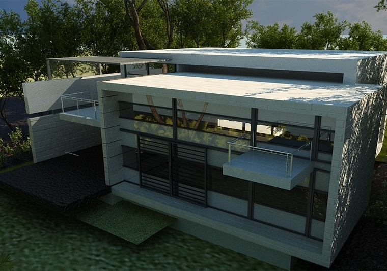 Proiect Locuinta Moderna   Concept Design casa minimalista cod DDS Siubiu, SB - proiect din portofoliul CUB Architecture