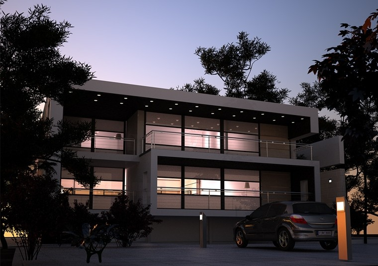 Proiect Locuinta Moderna   Concept Design casa moderna minimalista cod DDS Siubiu - proiect din portofoliul CUB Architecture